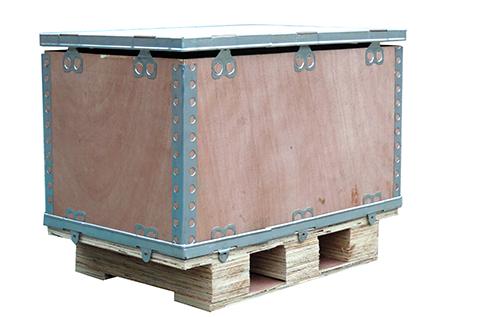 四川钢边木箱生产厂家,四川钢边木箱生产定制