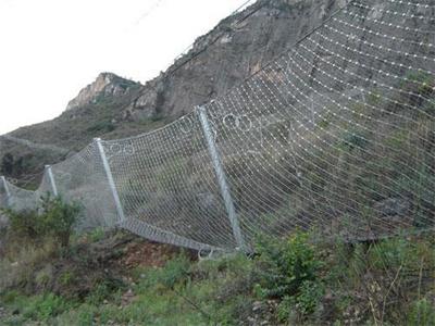 四川边坡防护网 绵阳边坡防护网 眉山边坡防护网