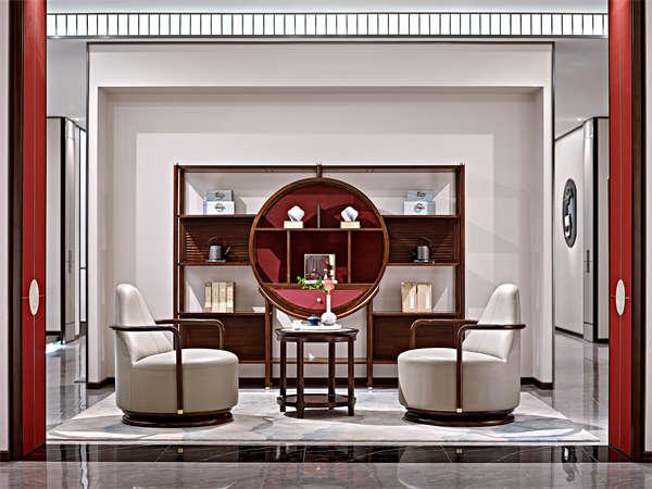新中式家具批发价格__洛阳轻奢家具_河南实木家具