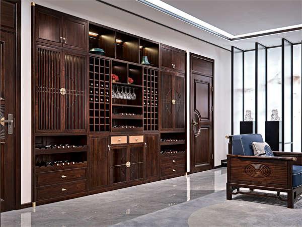 郑州新中式家具批发价格_开封整木定制价格_实木家具