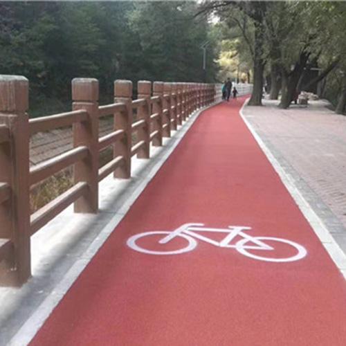 铜川彩色路面设计厂家|铜川彩色路面工程