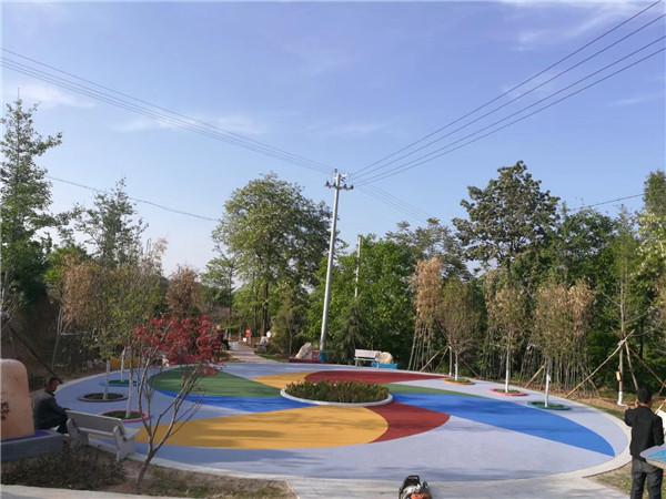 渭南陶瓷路面厂家|渭南陶瓷路面设计工程