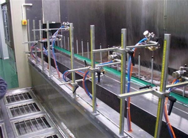 西安喷漆设备安装|静电喷漆流水线设计|蓝田自动喷漆流水线